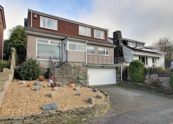 Thumbnail 4 bed detached house for sale in Hazel Close, Plymouth