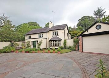 Thumbnail 4 bed detached house for sale in Alderley Road, Over Alderley, Macclesfield, Cheshire