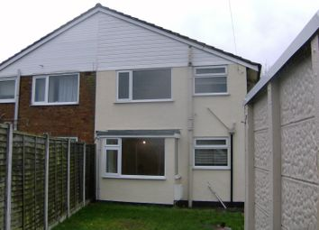 Thumbnail 3 bed town house to rent in Grange Crescent, Penkridge