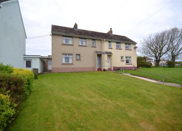 Thumbnail 3 bed semi-detached house for sale in Glanhafod, Hayscastle, Haverfordwest