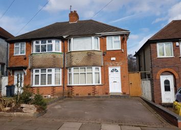 Thumbnail 3 bed semi-detached house to rent in Wensleydale Road, Perry Barr, Birmingham