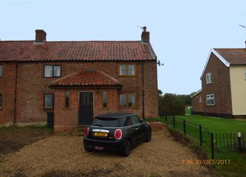 Thumbnail 2 bed semi-detached house to rent in Loddon Road, Mundham, Norwich