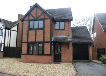 Thumbnail 4 bed detached house to rent in Brookside, Gunthorpe, Peterborough