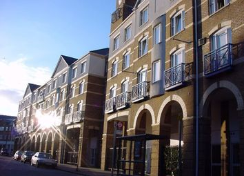 Thumbnail 1 bed flat to rent in Westminster Court, Rotherhithe Street, Rotherhithe