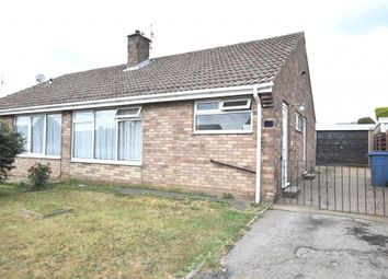 Thumbnail 2 bed semi-detached bungalow for sale in Overdale, Eastfield, Scarborough, North Yorkshire