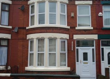 Thumbnail 5 bed terraced house to rent in Gidlow Road South, Old Swan, Liverpool, Merseyside