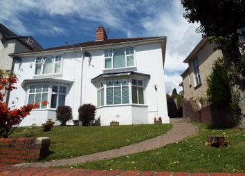 Thumbnail 3 bedroom semi-detached house for sale in 18 Queens Road, Sketty, Swansea
