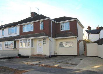 Thumbnail 4 bed semi-detached house for sale in Highland Road, Aldershot