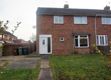 Thumbnail 2 bed end terrace house for sale in Midville Close, Lincoln