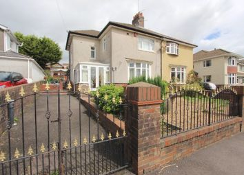 Thumbnail 3 bedroom semi-detached house for sale in Gilfach Road, Tonyrefail -, Porth