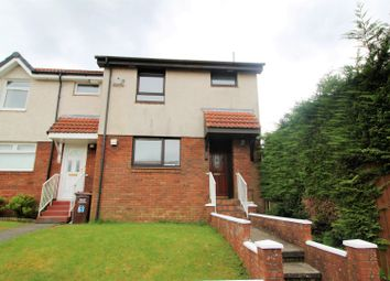 Thumbnail 2 bed end terrace house for sale in Saughs Drive, Glasgow