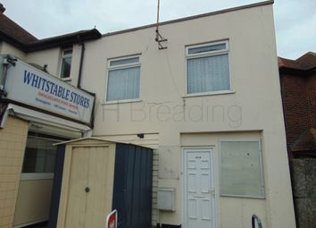 Thumbnail 2 bed flat to rent in Herne Bay Road, Whitstable