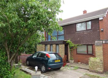 Thumbnail 4 bed link-detached house for sale in Raven Road, Walsall