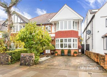 Thumbnail 6 bedroom semi-detached house for sale in Lyndhurst Gardens, Finchley, London
