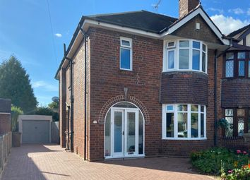 Thumbnail 3 bed semi-detached house for sale in Silkmore Crescent, Stafford