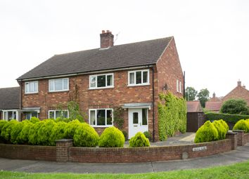 Thumbnail 3 bed semi-detached house for sale in Coombes Close, Sutton-On-The-Forest, York