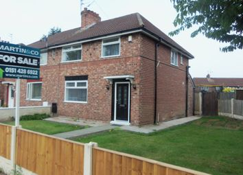 Thumbnail 3 bed semi-detached house for sale in New Hall Lane, Broadway, Liverpool