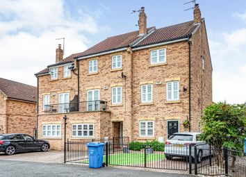 Thumbnail 4 bed terraced house for sale in Salix Court, Hull