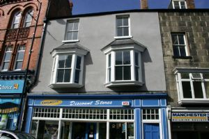Thumbnail 2 bed flat to rent in 3B Flat, Vale Street, Denbigh