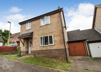 Thumbnail 3 bed link-detached house to rent in Lindford Drive, Eaton, Norwich