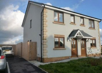 Thumbnail 2 bedroom semi-detached house to rent in Station Road, Letterston, Haverfordwest