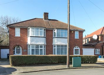 Thumbnail 3 bed semi-detached house for sale in Ashness Gardens, Greenford
