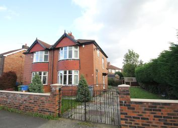 Thumbnail 3 bed semi-detached house to rent in Belford Road, Stretford, Manchester