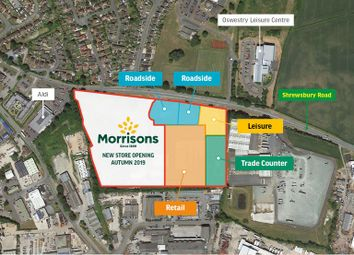 Thumbnail Land to let in Shrewsbury Road, Oswestry