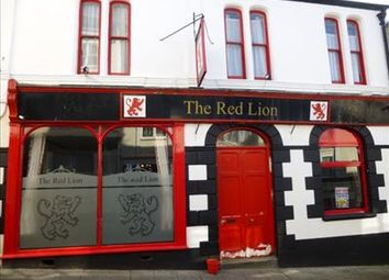 Thumbnail Pub/bar for sale in The Red Lion, 5 Lower Lux Street, Liskeard, Liskeard