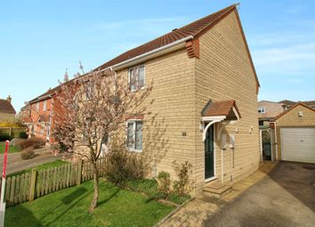 Thumbnail 2 bed semi-detached house for sale in Halford Close, South Witham, Grantham