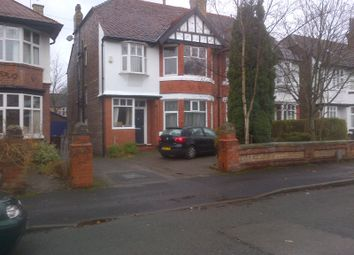 6 bed semi-detached house to rent in Sheringham Road, Manchester M14