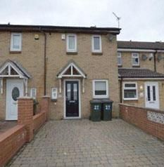 Thumbnail 2 bedroom terraced house for sale in Drumsheugh Place, Newcastle Upon Tyne