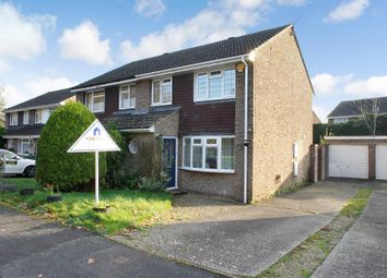 Thumbnail 3 bed semi-detached house for sale in Highland Drive, Oakley, Hampshire