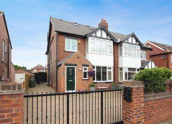 Thumbnail 4 bedroom semi-detached house for sale in Cross Gates Avenue, Crossgates, Leeds