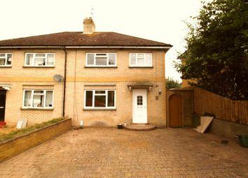 Thumbnail 4 bed semi-detached house to rent in Firbank Place, Englefield Green, Egham
