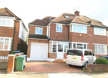 Thumbnail 5 bed semi-detached house for sale in Crundale Avenue Crundale Avenue, Kingsbury