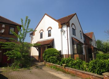 Thumbnail 1 bed end terrace house for sale in Wheatley Close, Emerson Valley, Milton Keynes