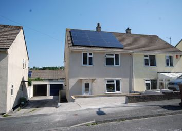 Thumbnail 3 bed semi-detached house for sale in Erle Gardens, Plympton, Plymouth