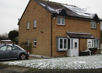 Thumbnail 1 bed end terrace house for sale in Bennions Close, Hornchurch