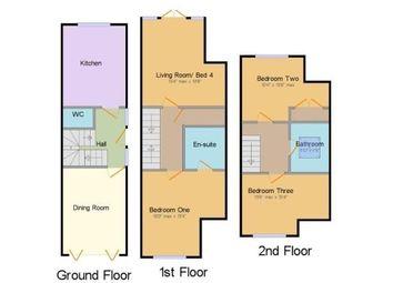 Thumbnail 3 bed property to rent in Half Yoke, Farleigh Lane, Maidstone