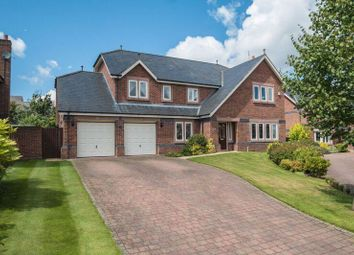 Thumbnail 5 bed detached house for sale in Bellcast Close, Appleton, Warrington
