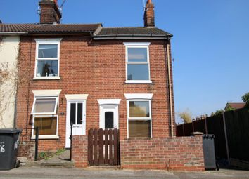 Thumbnail 2 bedroom end terrace house to rent in Waveney Road, Ipswich