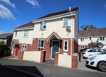 Thumbnail 3 bed semi-detached house for sale in Mount Tamar Close, Plymouth