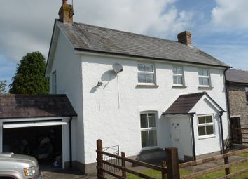 Thumbnail 3 bed detached house to rent in Felinfach, Brecon