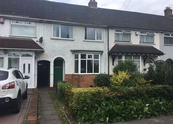 Thumbnail 3 bed terraced house for sale in Alvechurch Road, Northfield, Birmingham