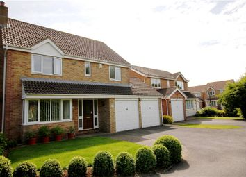 Thumbnail 4 bed detached house for sale in Wick St. Lawrence, Weston-Super-Mare, North Somerset