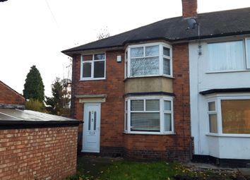 Thumbnail 3 bed terraced house for sale in Gipsy Lane, Erdington