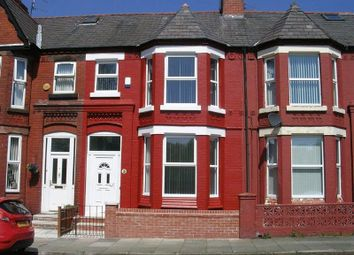 Thumbnail 4 bed terraced house for sale in Earl Road, Bootle