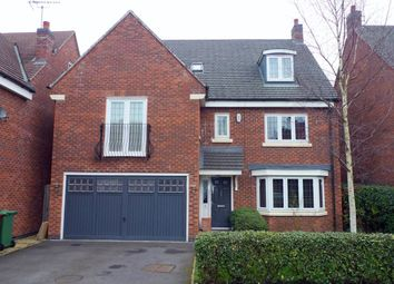 Thumbnail 6 bed detached house for sale in Oakbrook Close, Stafford