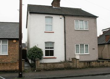 Thumbnail 2 bed semi-detached house to rent in Birkbeck Road, Rush Green, Romford